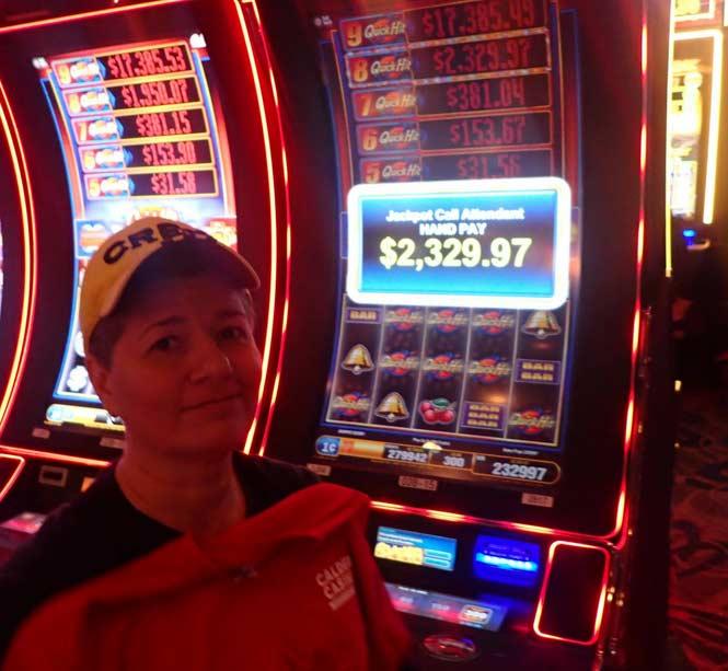 Jackpot Winner Alejandra Romero smiling
