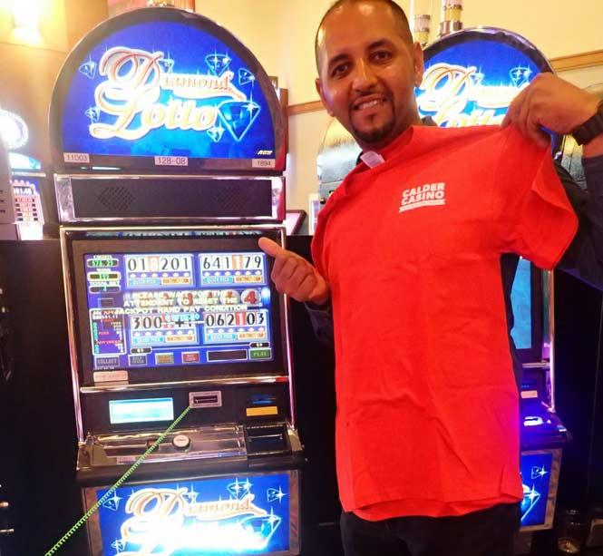 Jackpot Winner Alessandro Vaccari smiling