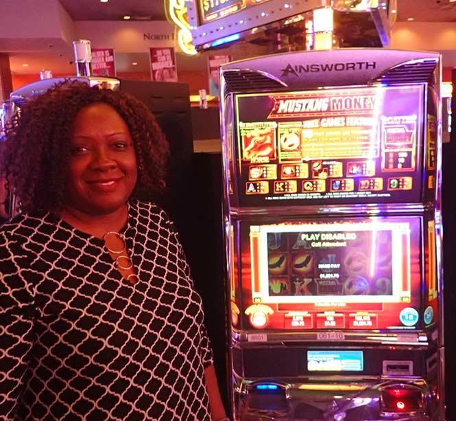 Jackpot Winner Antoinette Lee