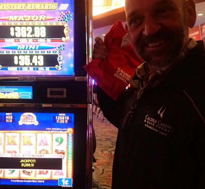 Jackpot Winner Basilio Hernandez smiling