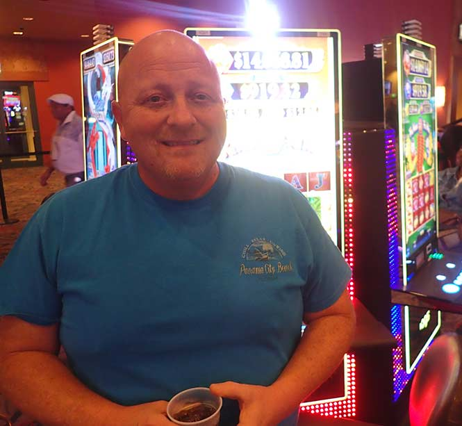 Jackpot Winner Richard F. Hall