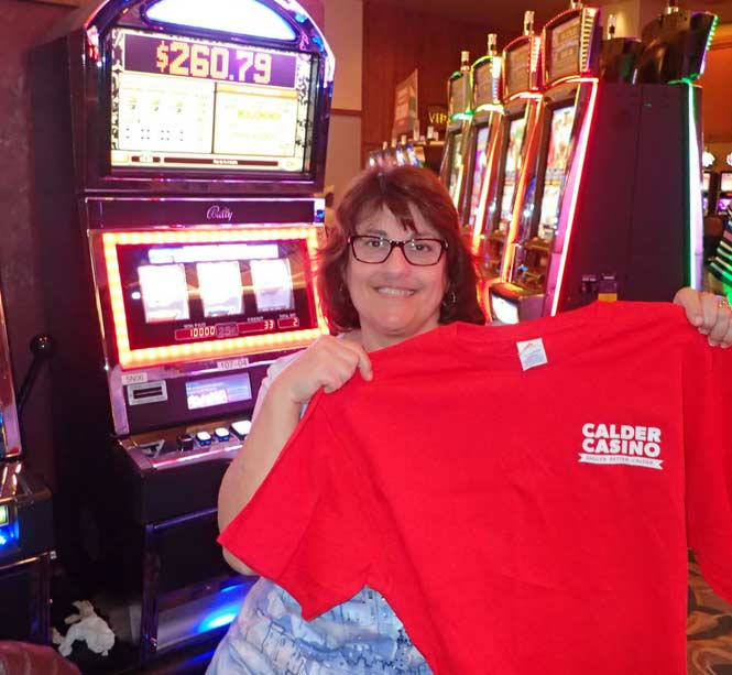 Jackpot Winner Seena Gardocki smiling