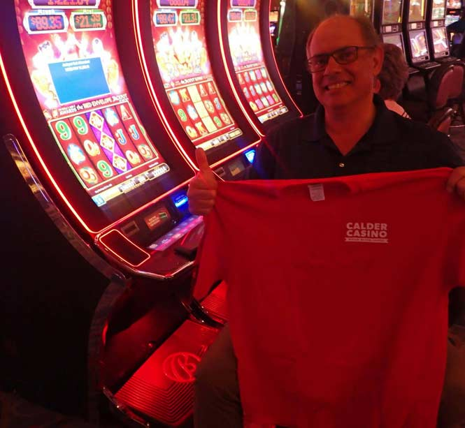 Jackpot Winner Victor A. Rocher smiling