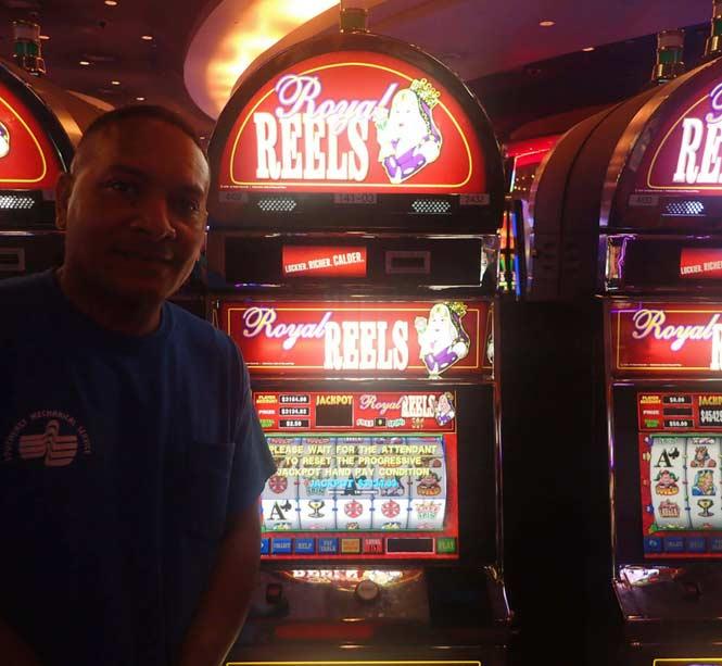 Jackpot Winner Ariel Perez smiling