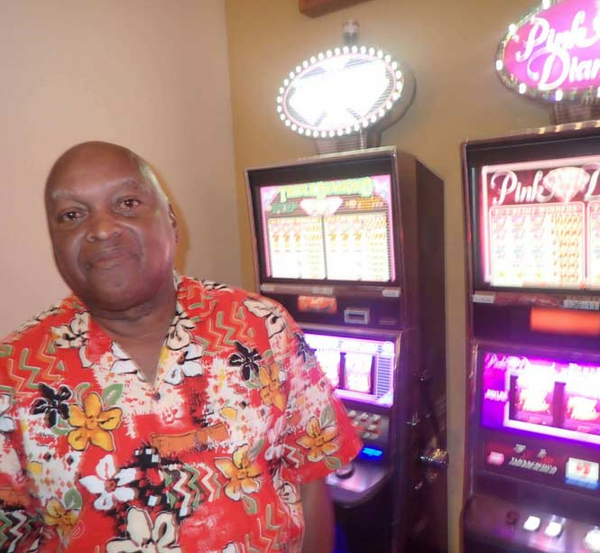 Jackpot Winner Edmond Collins smiling