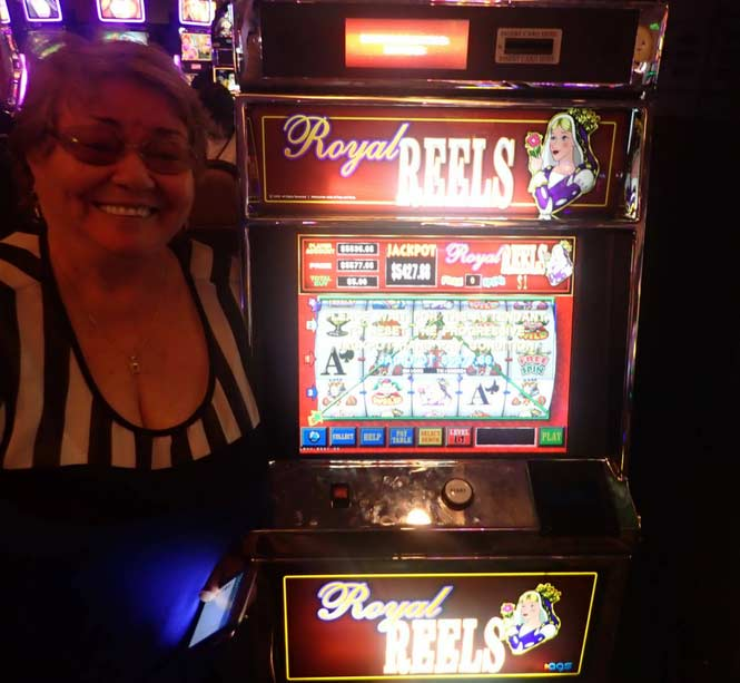 Jackpot Winner Eleuteria Marin Gomez smiling