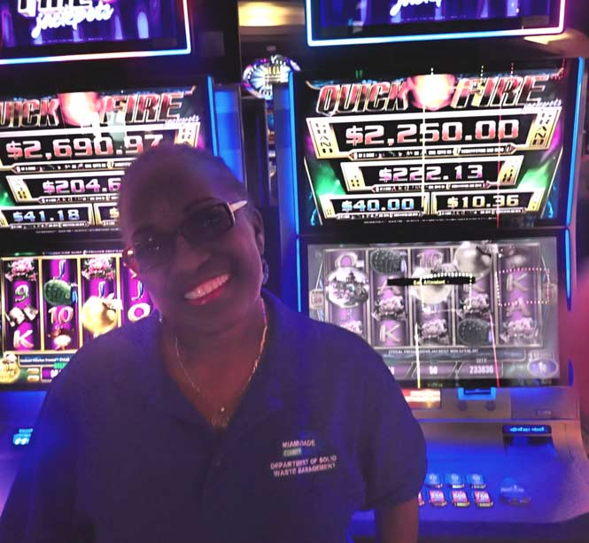 Jackpot Winner Joann Brown smiling