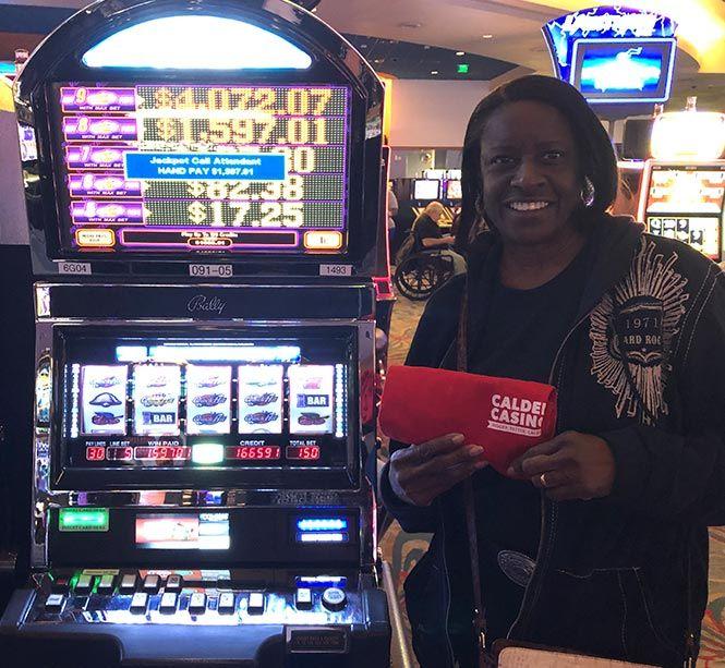 Jackpot winner at Calder Casino